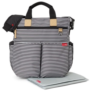Skip Hop Duo Signature B-W Stripe