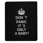 Don´t panic it´s only a baby hiirimatto musta