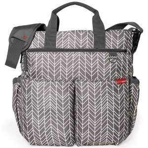 Skip Hop Duo Signature Grey Feather